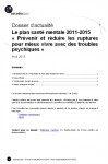 Introduction tirée de « Présentation du Plan santé mentale 2011-2015 » - DA_psm_2011_2015_201304
